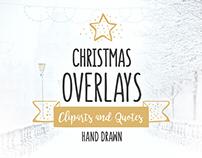 Christmas Overlays – Vector Set