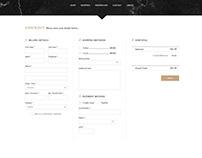 Amour Eternel - Checkout Page UI Design