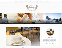Rosy – Beautiful Multiple Layout WordPress Blog Theme