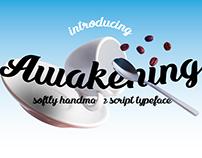 Awakening typeface