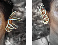 Tsehay / Body Scan Ear Art