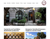 VinoMio - Web design for Wordpress
