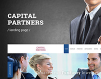 CapitalPartners - landingpage