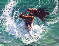 Ocean Paintings 2015