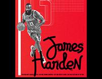 NBA Doodle Series: James Harden