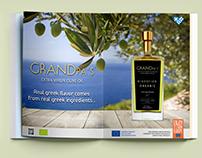 GRANDpa's Extra Virgin Olive Oil_Magazine Ad