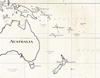 Tonga Video Intro Map