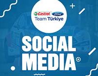 Ford Castrol Rally - Social Media