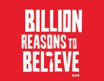 Coca-Cola Billion Reasons to Believe