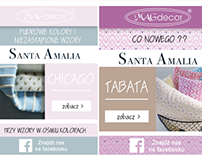 SANTA AMALIA - GRAPHICS FOR SOCIAL MEDIA,NEWSLETTERS