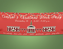 Christmas Block Party Banner