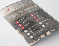 Leaflets for coffee shop