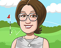 Woman Golfers