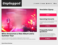 Responsive Website: Unplugged