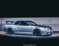 Nissan Skyline GTR BNR34