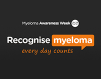 Myeloma Awareness Week campaign