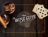 Wise Guys Bar & Restaurant Identity Design