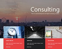 Consulting Company Mock Up