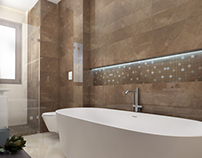 Bathroom design by Vitta-group