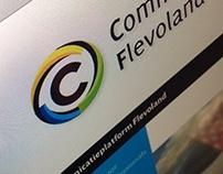 Logo/huisstijl Communicatieplatform Flevoland