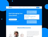 SaaS PRO - Landing Page Design