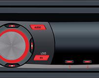 Vetorização Rádio