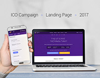 Just another ordinary ICO landing page
