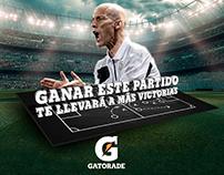 Invitación Simposio Fútbol Gatorade