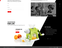 Eveready Inspired Minds Microsite for pitch