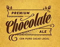 Chocolate Ale - Beer Label