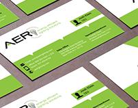 AER Lighting Businescard