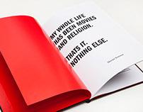 Martin Scorsese | monograph book design