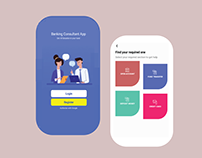 Banking consultant App UI