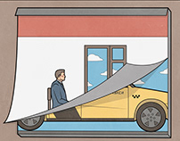Illustrations for Яндекс.Такси