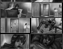 Horror storyboard