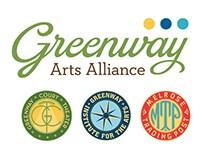 Greenway Arts Alliance Organization Rebrand