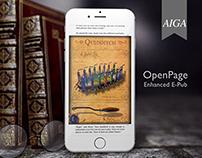 UI/UX Patent #8904304 OpenPage™