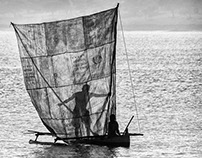 Madagascar B&W : Fishing scenes