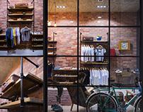 Saroyan Store Interior/Branding