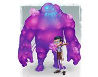 Bubblegum Golem