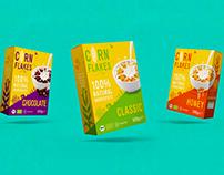 Corn Flakes BIO - Branding