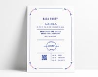 Invitation Design - Christina Filippou