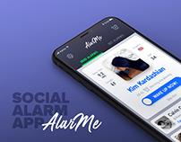 AlarMe - social alarm app