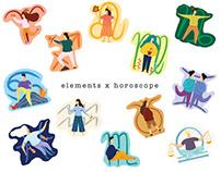 elements x horoscope