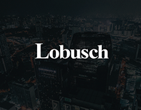 Branding and site Lobusch Consulting
