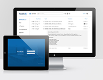 Toodledo Site Redesign