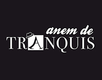 "Logo and draw ""Anem de tranquis"""