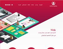 Castle Media Website Design