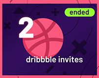 2 Dribbble Invites - Giveaway