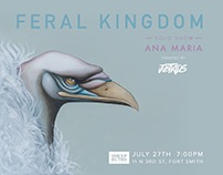 Feral Kingdom Solo Exhibition Fort Smith, Arkansas